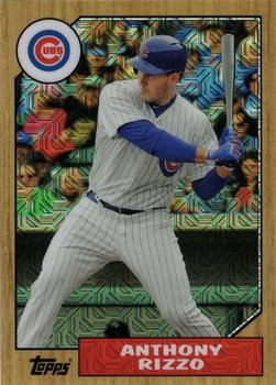 2017 Topps - Silver Pack Series Two #87-ARI Anthony Rizzo Front