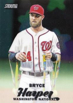 2017 Stadium Club - Chrome #SCC-5 Bryce Harper Front