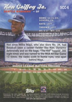 2017 Stadium Club - Chrome #SCC-6 Ken Griffey Jr. Back