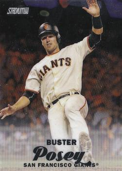 2017 Stadium Club - Chrome #SCC-9 Buster Posey Front