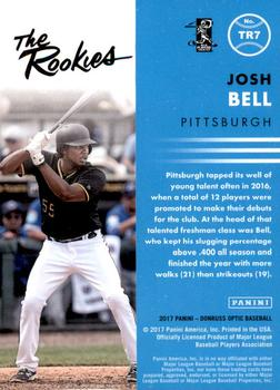 2017 Donruss Optic - The Rookies #TR7 Josh Bell Back
