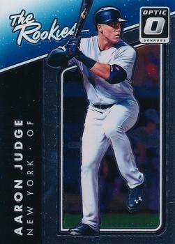 2017 Donruss Optic - The Rookies #TR8 Aaron Judge Front