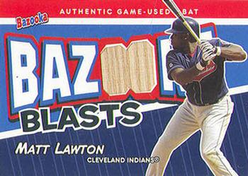 2004 Bazooka - Blasts Bat Relics #BB-ML Matt Lawton Front