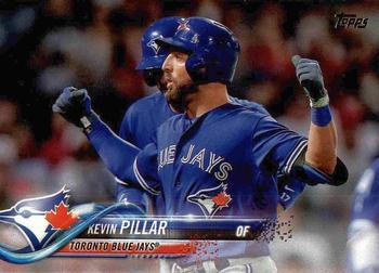 2018 Topps #4 Kevin Pillar Front