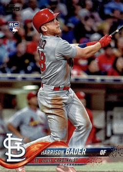 2018 Topps #21 Harrison Bader Front