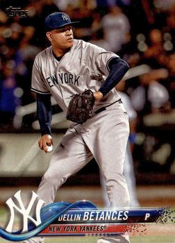 2018 Topps #80 Dellin Betances Front