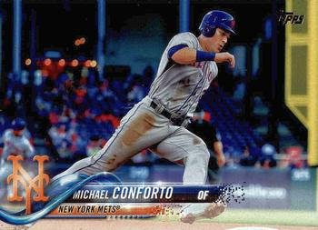 2018 Topps #88 Michael Conforto Front