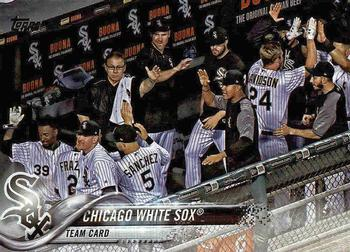 2018 Topps #98 Chicago White Sox Front