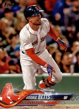 2018 Topps #140 Mookie Betts Front