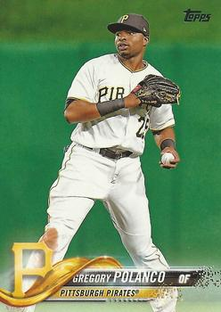 2018 Topps #201 Gregory Polanco Front