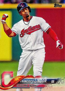 2018 Topps #10 Francisco Lindor Front