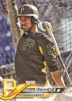 2018 Topps #200 Andrew McCutchen Front