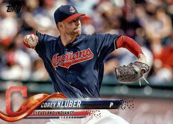 2018 Topps #393 Corey Kluber Front