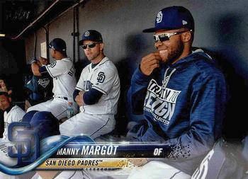 2018 Topps #430 Manny Margot Front