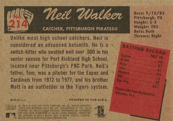 2004 Donruss Elite Extra Edition Round Numbers #RN-11 Neil Walker Baseball Card Verzamelkaarten: sport
