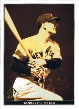 2002 SP Legendary Cuts #48 Lou Gehrig Front
