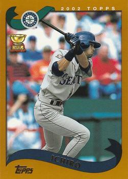 2002 Topps #225 Ichiro Front