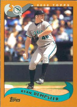 2002 Topps #399 Ryan Dempster Front