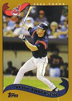 2002 Topps #471 Brady Anderson Front