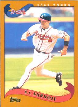 2002 Topps #9 B.J. Surhoff Front