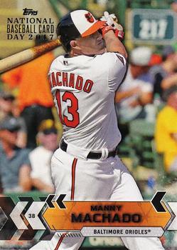 2017 Topps National Baseball Card Day Baltimore Orioles