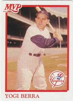 1990 MVP Sportscards Baseball All-Star Card Game #4 Yogi Berra Front