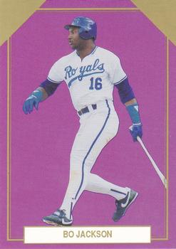 1989 Premier Player Gold Edition Series 5 #2 Bo Jackson Front