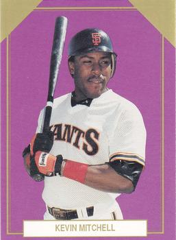 1989 Broder Premier Player Series 5 Gold Edition #3 Kevin Mitchell Front