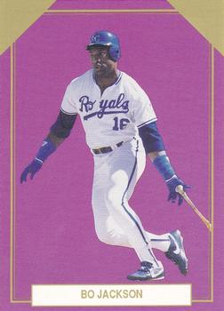 1989 Premier Player Gold Edition Series 5 #8 Bo Jackson Front