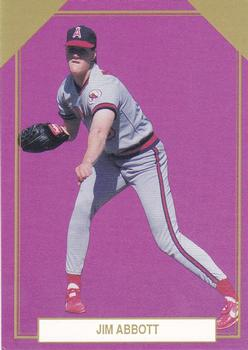 1989 Premier Player Gold Edition Series 5 #10 Jim Abbott Front