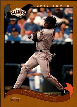 2002 Topps Traded & Rookies #T84 Kenny Lofton Front