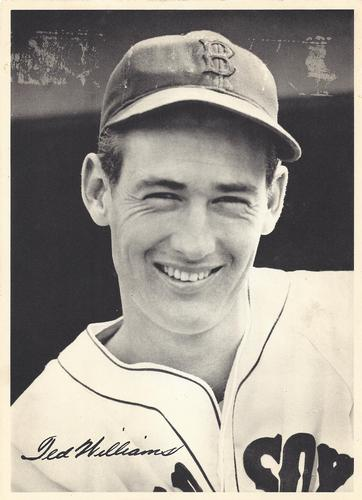 1942 Boston Red Sox Picture Pack #NNO Ted Williams Front