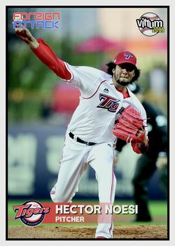 2016 Vittum KBO Foreign Attack #9 Hector Noesi Front