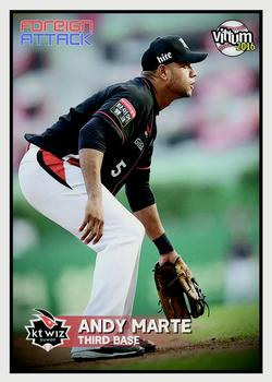 2016 Vittum KBO Foreign Attack #16 Andy Marte Front
