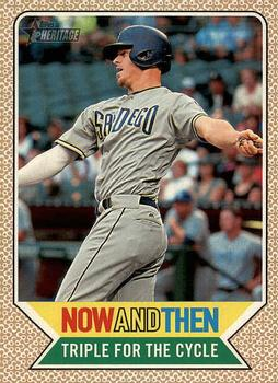 2017 Topps Heritage - Now and Then #NT-1 Wil Myers Front