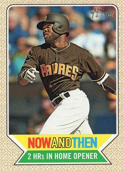 2017 Topps Heritage - Now and Then #NT-6 Manny Margot Front