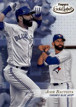 2017 Topps Gold Label - Class 3 #2 Jose Bautista Front