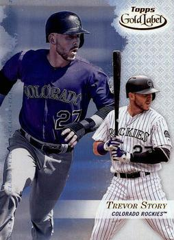 2017 Topps Gold Label - Class 3 #3 Trevor Story Front