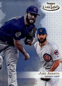2017 Topps Gold Label - Class 3 #6 Jake Arrieta Front