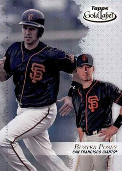 2017 Topps Gold Label - Class 3 #10 Buster Posey Front
