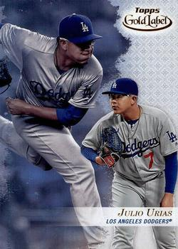 2017 Topps Gold Label - Class 3 #33 Julio Urias Front