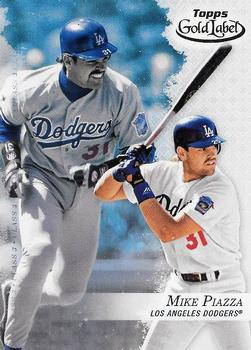 2017 Topps Gold Label - Class 3 #34 Mike Piazza Front