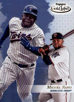 2017 Topps Gold Label - Class 3 #39 Miguel Sano Front