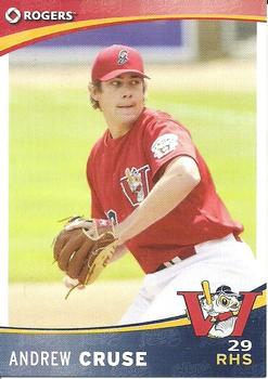 2009 Rogers Winnipeg Goldeyes #NNO Andrew Cruse Front