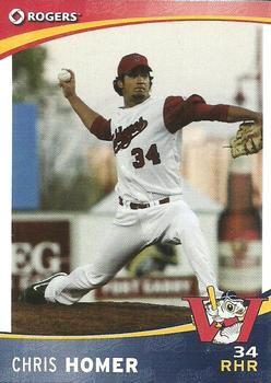 2009 Rogers Winnipeg Goldeyes #NNO Chris Homer Front