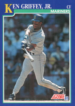 44b78cd17c Collection Gallery - uncaian - Ken Griffey Jr.   The Trading Card ...