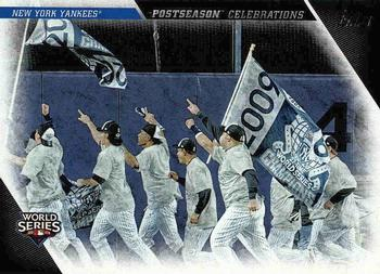 2017 Topps Update - Postseason Celebrations #PC-24 New York Yankees Front