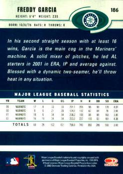 2003 Donruss #186 Freddy Garcia Back