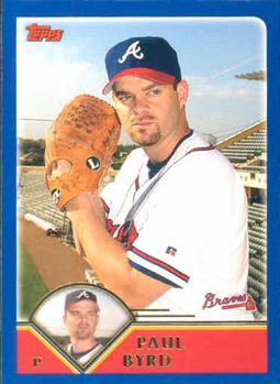 2003 Topps #436 Paul Byrd Front