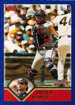 2003 Topps #43 Javy Lopez Front